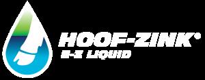 Hoof Zink Logo in reverse