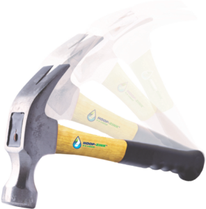 hoof-zink hammer coming down. | Nail the Warts with Hoof-Zink E-Z Liquid foot bath for dairy cattle . prevent digital dermatitis